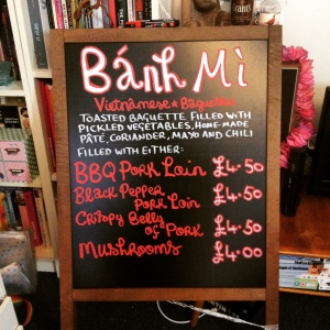 Banh Mi sandwich board