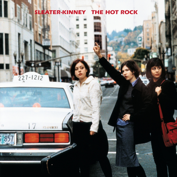 Cover of Sleater-Kinney's the Hot Rock album